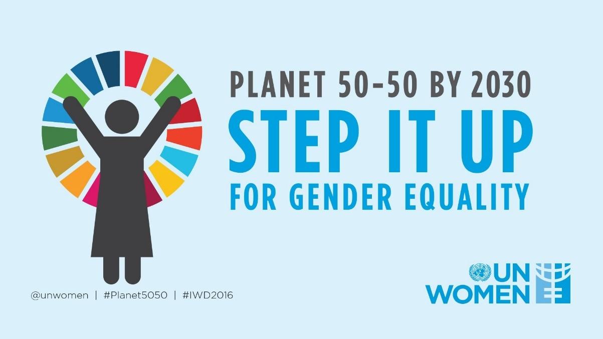 UN Women - Planet 50-50 by 2030 Logo